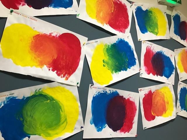 Les couleurs secondaires en MS