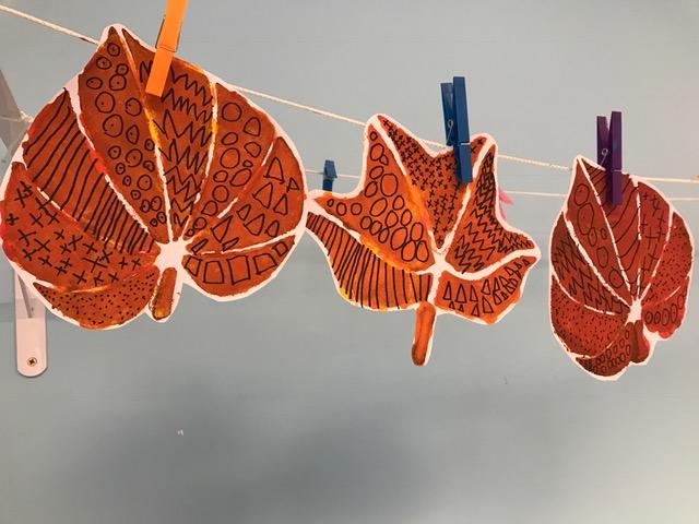 Les feuilles d'automne des Grands